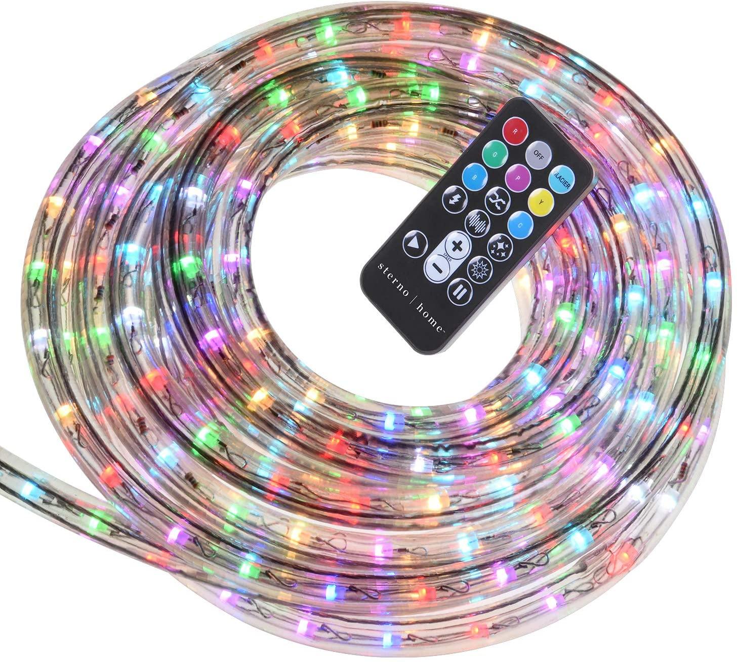 Rope Light For Outdoor 100m Ip65 White Christmas Luminous Led Body Lamp Pvc Pse Power Item Warm