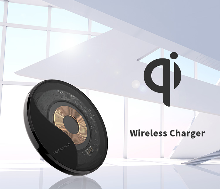 Wireless USB QC3.0 Receiver Mobile Phone Fast Qi Charging Pad Type C Charger