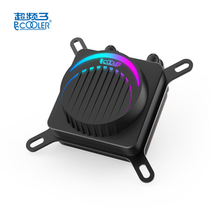 Pccooler Higer Quality 4pin water cooling FRGB 12v LED lighting cpu 120mm liquid cooling fan for pc cases