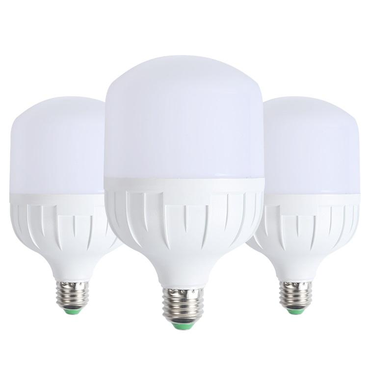 תאורה פנימית באיכות גבוהה אלומיניום pbt 30w 40w 50w E27 B22 led הנורה אור