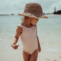 New Fashion Hot Summer Nice cute kids Swimwear One Piece Swimwear for Kid Girl Bathing Suit