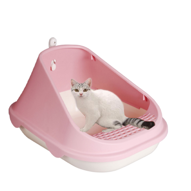 Wholesale Plastic Indoor Puppy Potty Litter Training Pet Male Dog Pee Tray Grand Dog Toilet