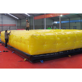 Security protection products safety inflatable giant jumping air cushion