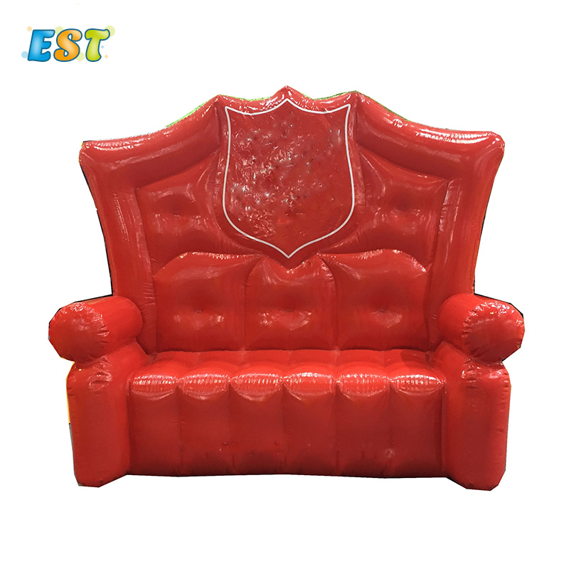 Inflatable couch , inflatable giant red sofa ,inflatable bubble couch for advertising