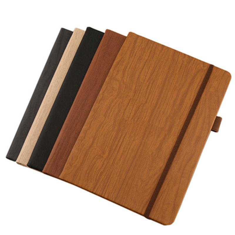 맞춤형 디자인 나무 질감 프로모션 노트북