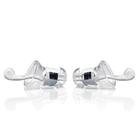 Transparent Safety Funny Eco-Friendly Noise Cancelling Silicone Earplugs with Metal Case