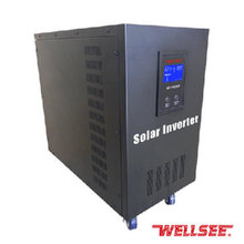 Solar inverter für wasser pumpe dc zu ac power inverter 48v 6kw 6000watt WELLSEE DC Ac solar power energie konverter