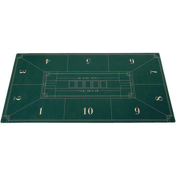 1.8M Family Party Casino Entertainment Texas Poker Gaming Table Rubber Mat