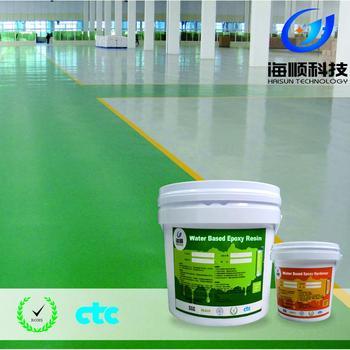 Dust Resistant And Anti Skid Epoxy Resin Concrete Floor