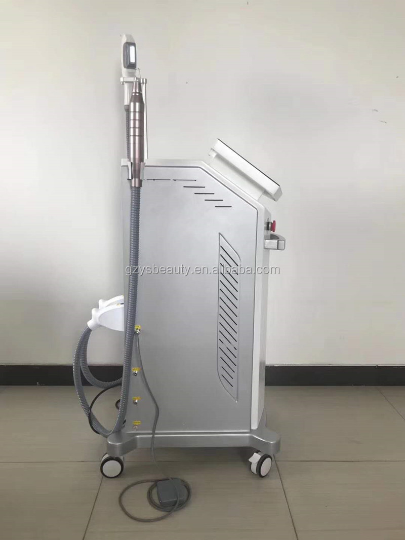 Vertical SHR OPT Picosecond Laser Tattoo Removal Machine 2 in 1 IPL+Nd Yag Laser Beauty Machine
