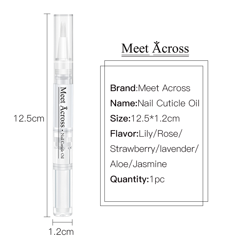 Private Label with My Logo Custom Packaging Nail Care Pen Wholesale Cuticle Oil With Flower