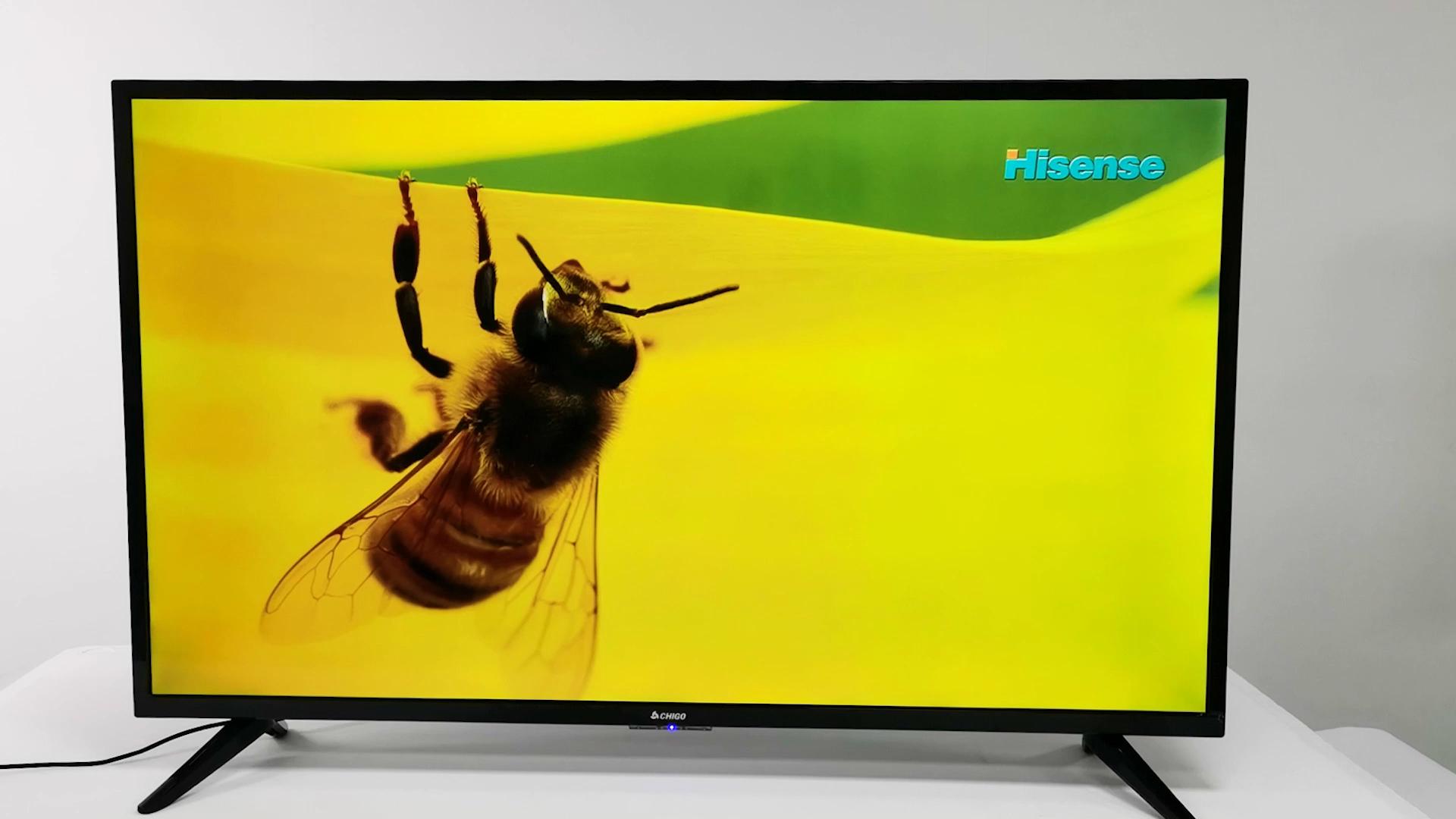 OEM 도매 32 인치 LED TV 소형 텔레비전 스마트 HD 전체 블랙 컬러 디지털 TV