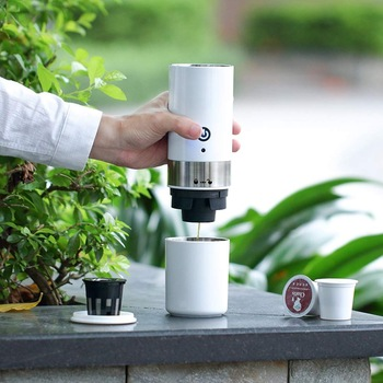 Portable k-cup Capsule <strong>Drip</strong> Brew <strong>Coffee</strong> <strong>Maker</strong> American <strong>Coffee</strong> Machine With USB Cable