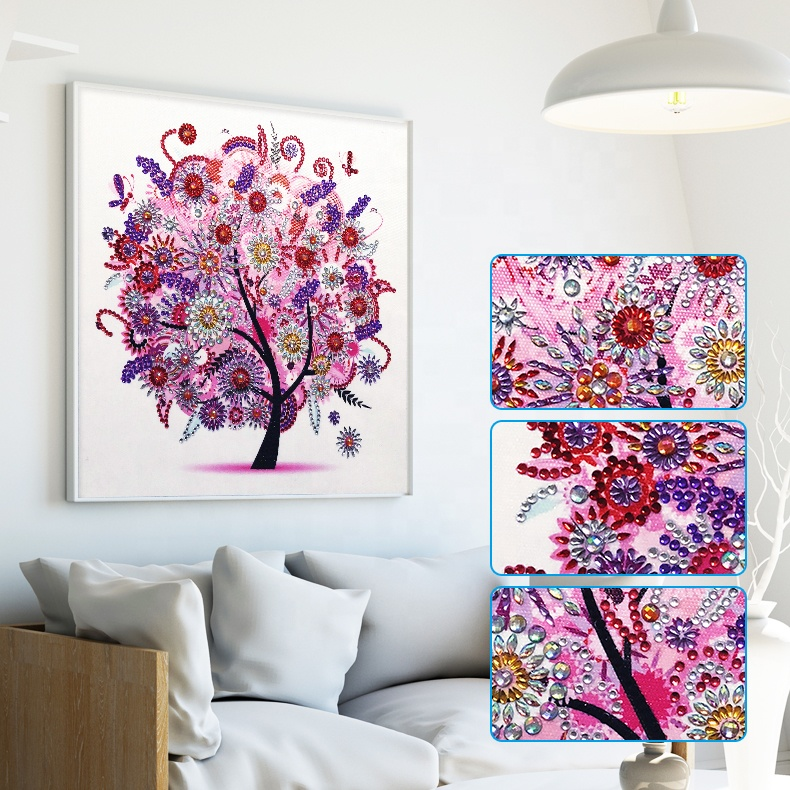 5d DIY diamond painting, cartoon, full diamond, round, rhinestone, 5D diamond embroidery wholesale
