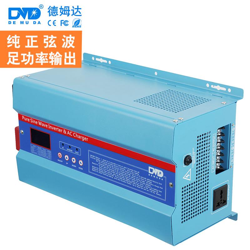 1000w 2000w 3000w 4000w 5000w 6000w Low Frequency Inverter dc ac 12v 24v 48v 110v 220v 230v Built in Cahrge