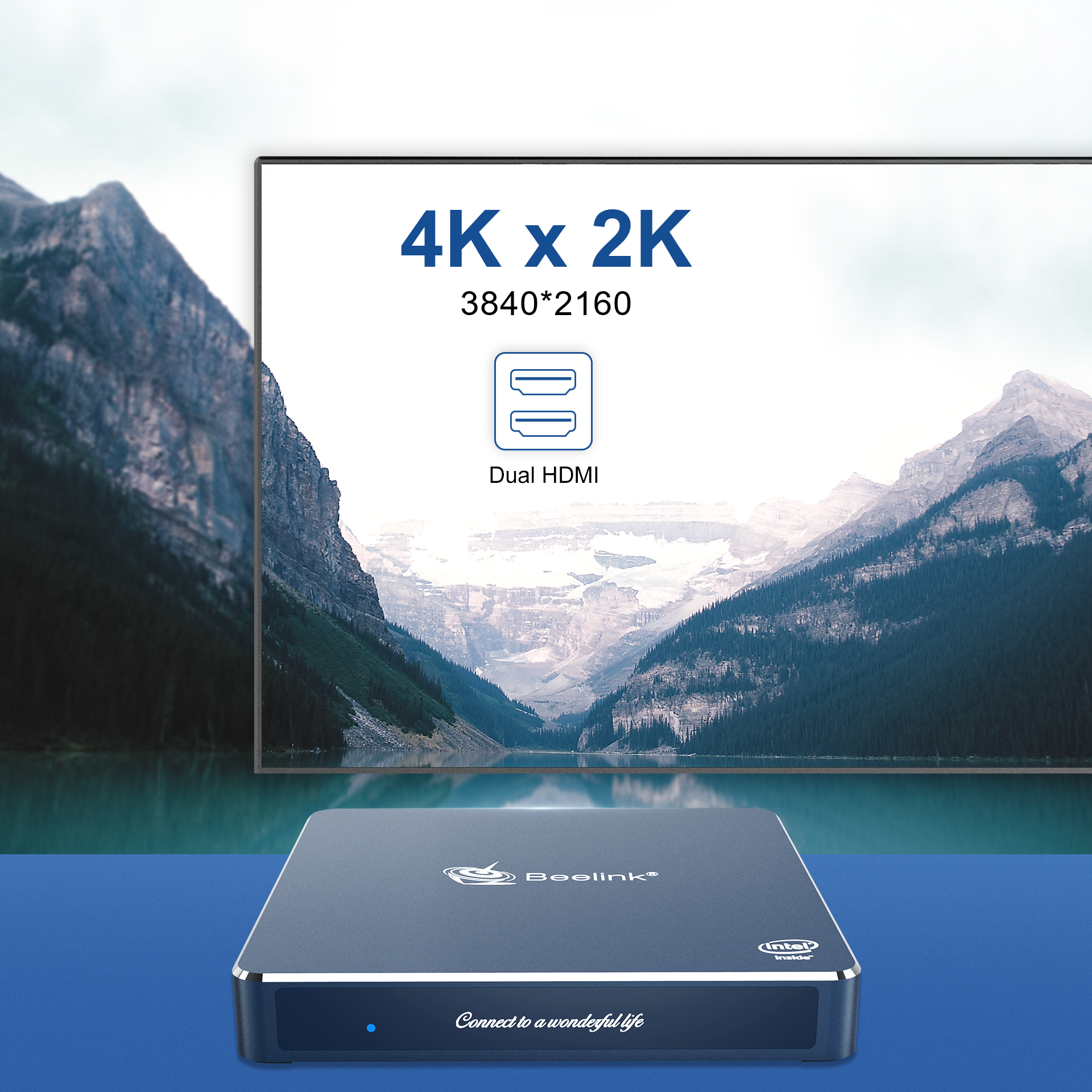 2020 Beelink Gemini M Intel J4125 Mini PC 8+128GB support SATA SSD storage 2.4+5.8G wifi support 4K mini box Beelink