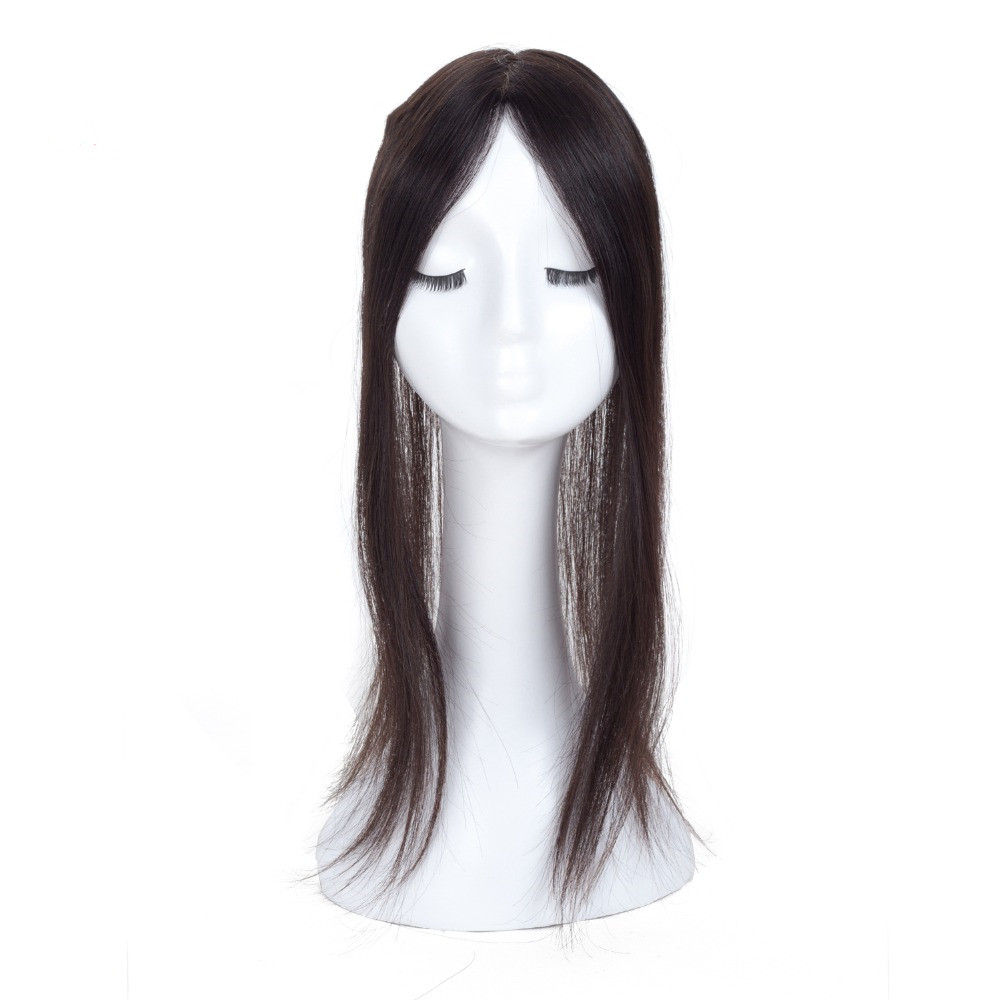 Human Hair women Toupee for Women Net Base Size 12*6 cm Remy Hair