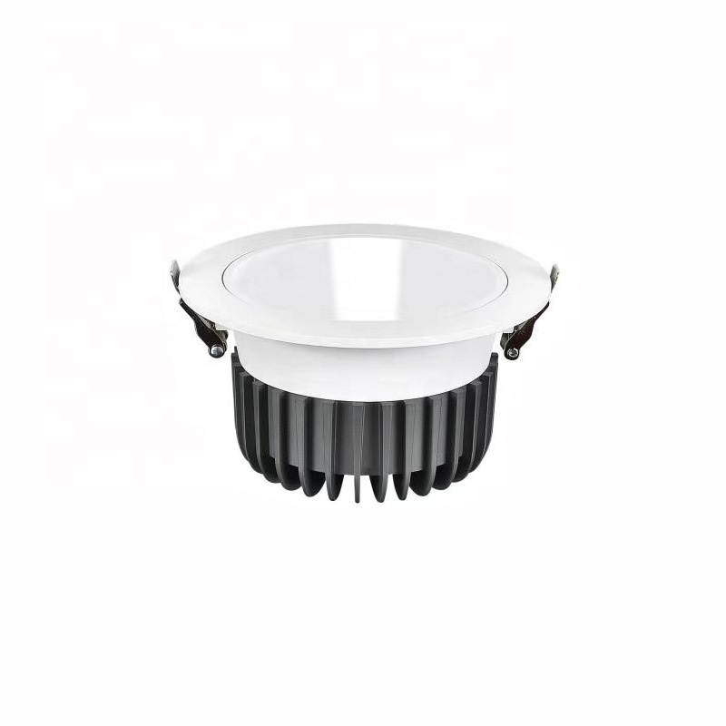 2020 New Models Round Architectural  30W LED Spotlight Downlight 100lm/W Cutout 150mm For Ceiling Decoration Deep LED Spotlight