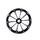 Motorcycle Wheels Forged Aluminum Motorcycle Wheels Factory Customized 18/21 23/26/30 Inch 21* 3.5-inch Motorcycle Forged Aluminum Wheels For Retrofit Wheels