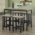 5 Piece Counter Height Breakfast Nook Dining Set For Kitchen Dining Room Home Furniture
