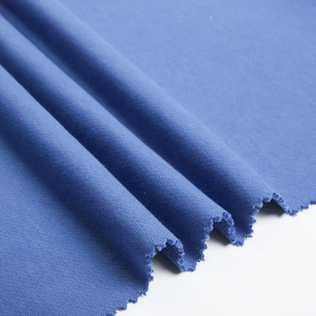 Cut-price blue cotton polyester blend t shirts what is terylene fabric from china