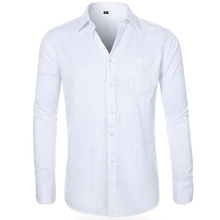 Grosir <span class=keywords><strong>Kemeja</strong></span> Pria Chemise Homme Camicia Uomo Penuh Lengan Panjang Putih untuk Pria <span class=keywords><strong>Kemeja</strong></span> Formal untuk Pria