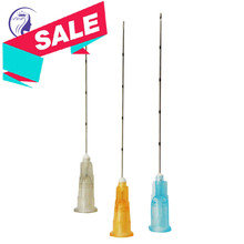 Blunt micro cannula 25g 26g 27G 30g 33g เข็มสำหรับ injectables fillers