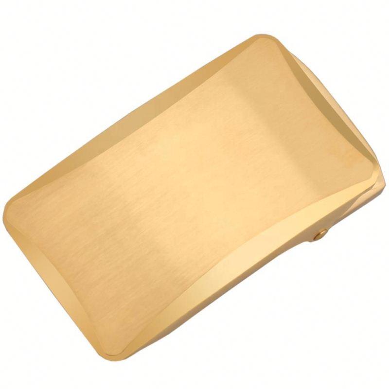 Alfa Altın Cırcır Kemer Toka Metal Otomatik Toka Erkekler Için