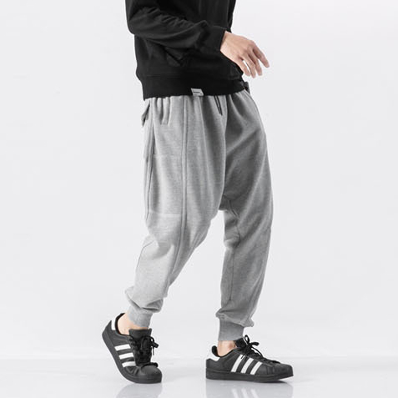 OEM clothing manufacturing wholesale soft elastic waist track pants men