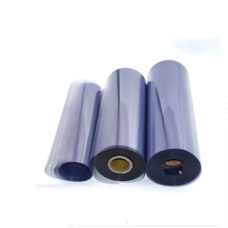0,25 мм прозрачная пвх рулон прозрачная Гибкая тонкая медицинская упаковка ПВХ пленка