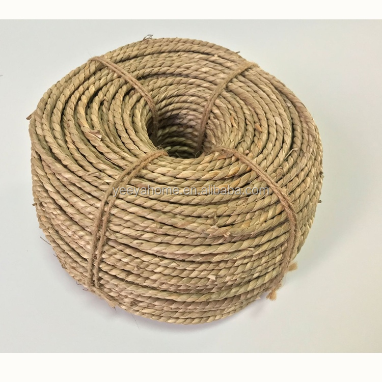 wholesale top quality natural seagrass rope  raw material for weaving basket