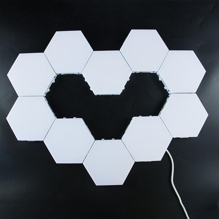 Smarter Rhythm Edition Aurora Modular Nanoleaf Led  Light Panels For Bedroom