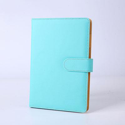 2020 планировщик A5 бумажный блокнот из искусственной кожи с кнопкой ежедневный блокнот Filofax офисный Профессиональный планировщик книга бизн...(Китай)