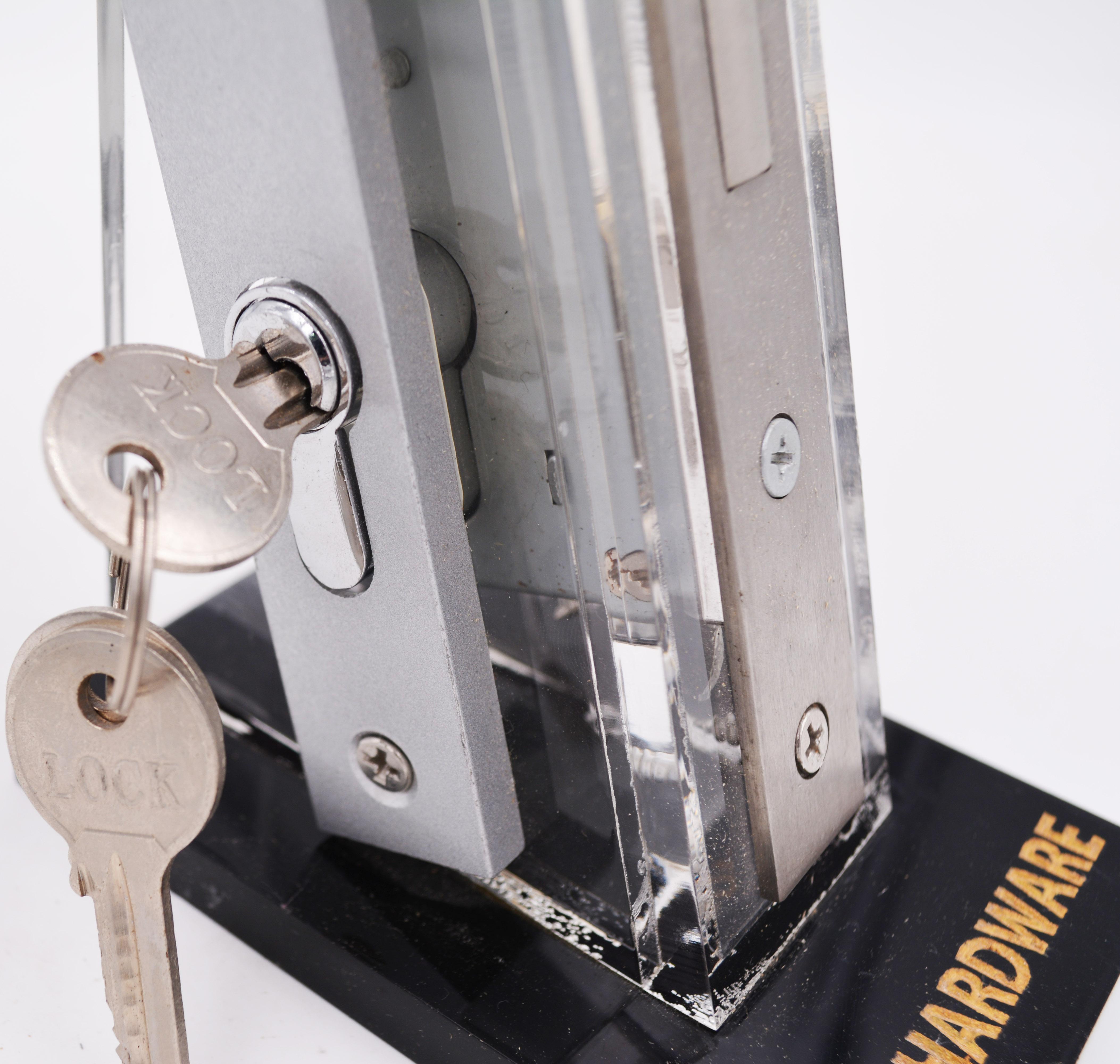 KEYI Hardware DE-09 South Africa  Aluminum Sliding Glass Door Lever Handle