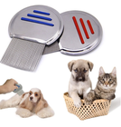 Pet Nit Comb Stainless Steel Metal Head Lice Comb