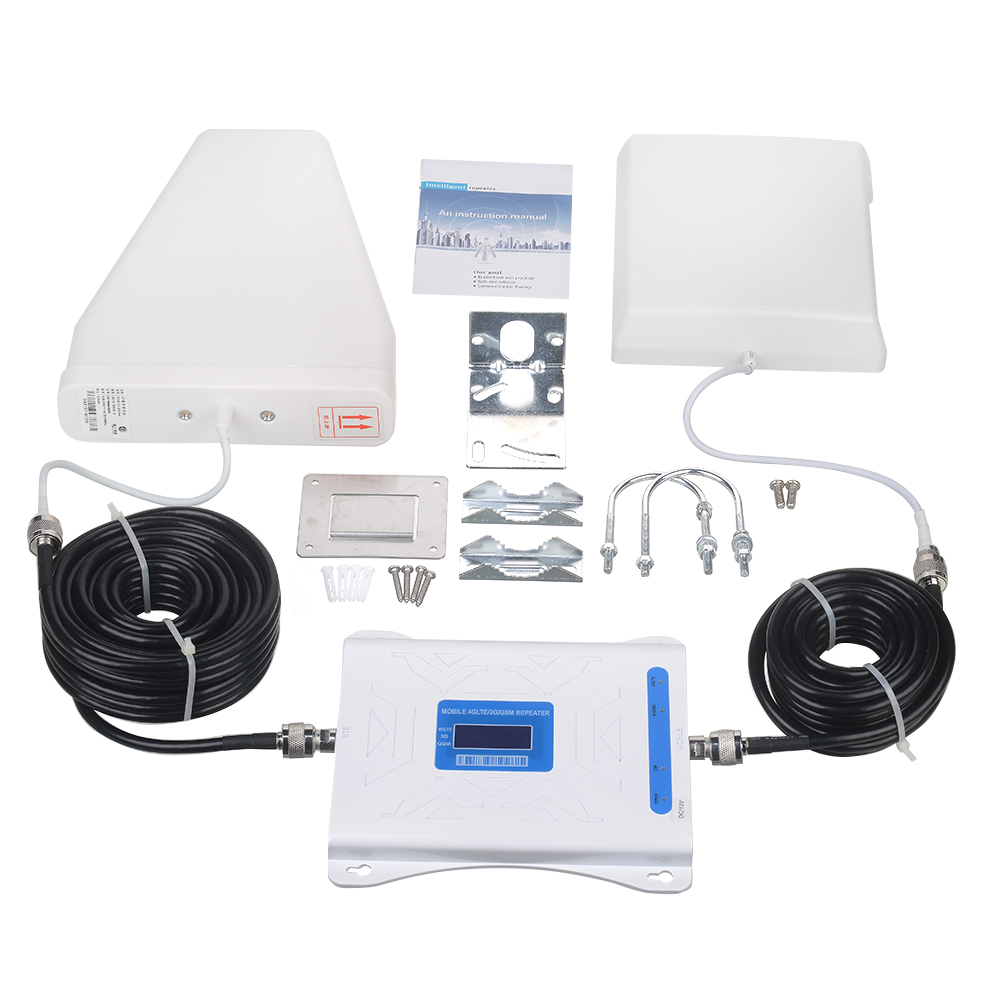gsm repeater ignal booster,1 Set, White