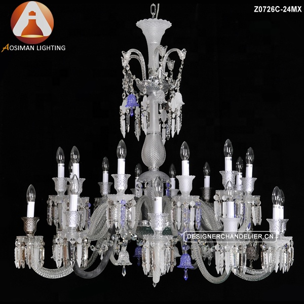 24 Lamp Baccarat Crystal Chandelier Product On Alibaba