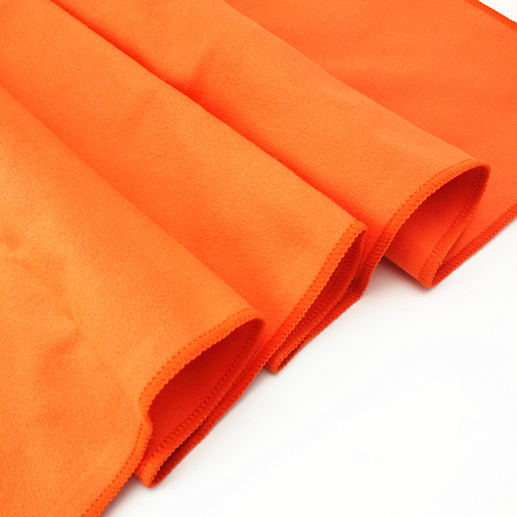 wholesale microfiber suede cloth for glass and screen clean soft high absorbent microfiber ultra suede towel