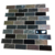 Decorative wall and floor bathroom stone tiles sticker