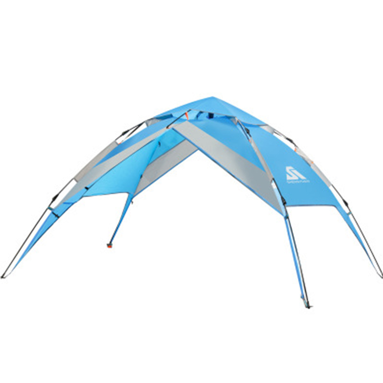4 persons family portable automatic camp tenda foldable waterproof pop up camping tent outdoor