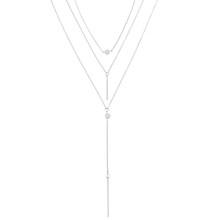 Женское Ожерелье с кулоном ZOVOLI Boho, многослойное ожерелье с золотыми блестками, длинные цепочки со звездами и бусинами, модные украшения(Китай)