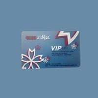 inkjet pvc photo clear business transparent card