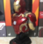 Eterm Marvel MK43 Eroe Del Busto di Alta Qualità Luminescente Action Figure
