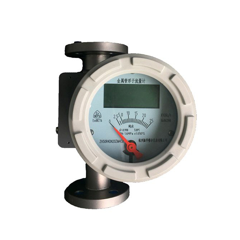 4-20mA output variable area gas steam liquid flow meter rotameter