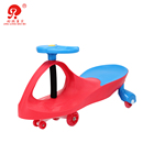 Toddler kids toy cars twist swing car without music and light