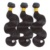 Cuticle aligned virgin human brazilian  hair bundles