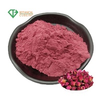 Chinese Botanical Supply Rose Petals Rose Flower Powder for Mask Skin Care Rose Petal Powder