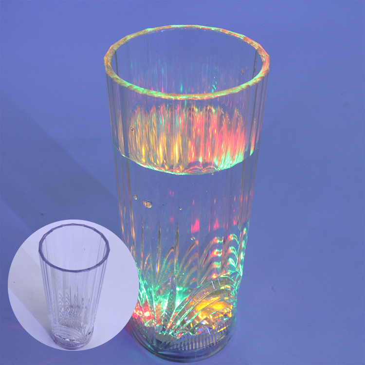 Giet LED reflector plastic Party glow up cup Volwassen servies water cup