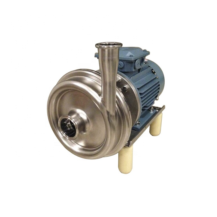 Sanitary Open Impeller Centrifugal Water Supply Pump For Beer Processing