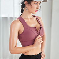 Fitness Yoga Wear Crossback Nylon Spandex Workout Wholesale Sports Bra